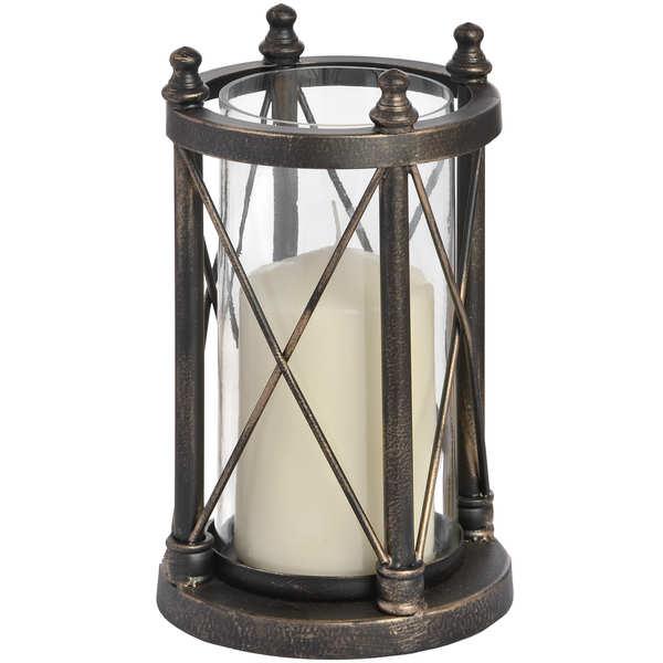 Nautical Antique Bronze Candle Holder