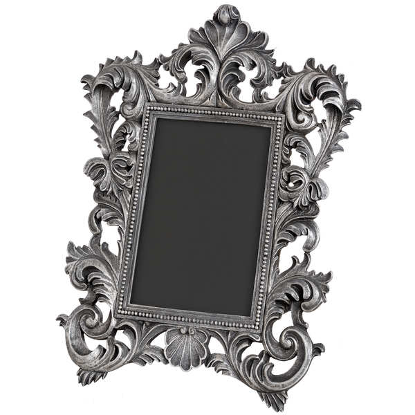 Antique Metallic Decorative Frame 4x6