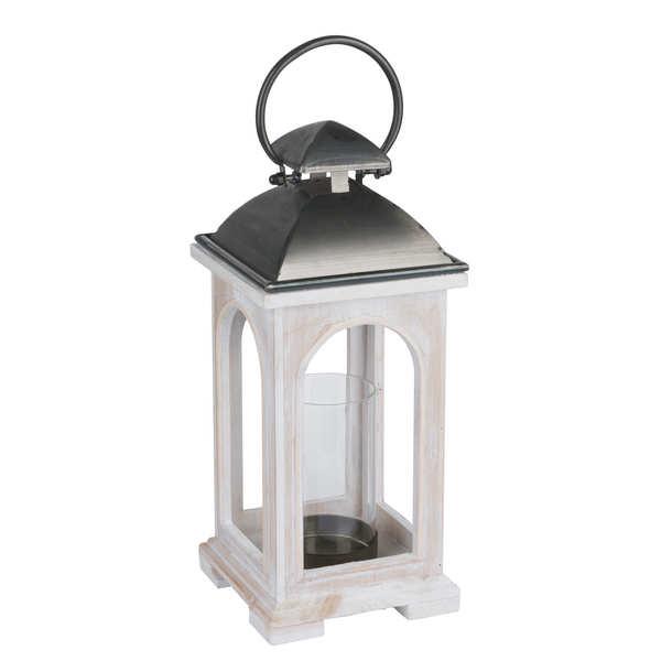 Antique White Church Inspired Lantern