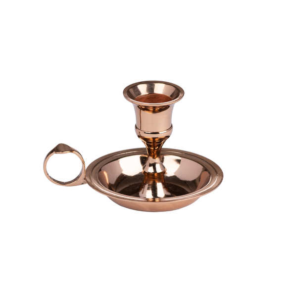 Copper Wee Willie Winkie Candle Holder