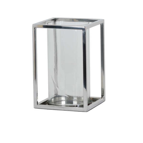 Contemporary Square Design Candle Holder