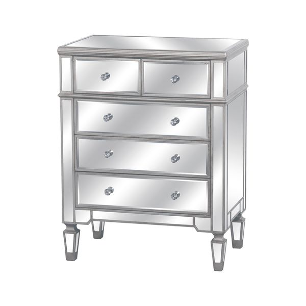 The Silver Belfry Collection Two Over Three Chest Of Drawers