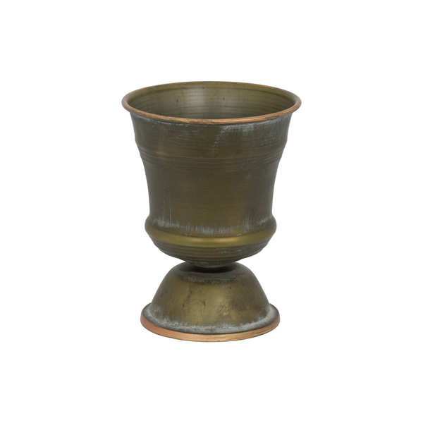 Small Aged Bronze Goblet