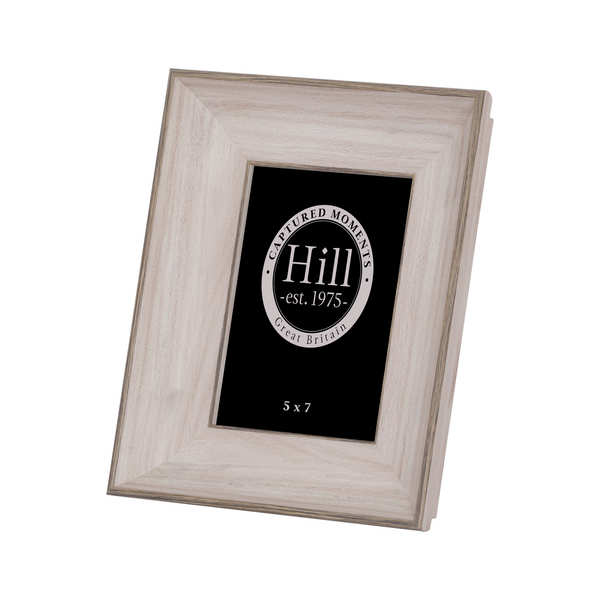 White Washed Wood Photo Frame 5X7