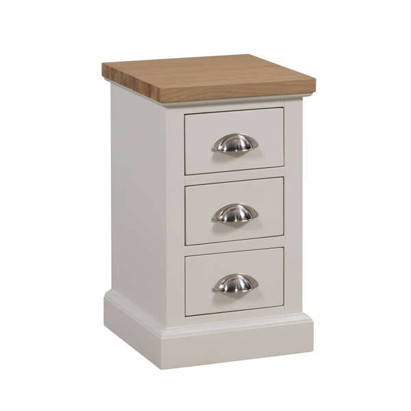 The Ripley Collection Three Drawer Bedside