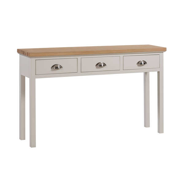 The Ripley Collection Three Drawer Console Table