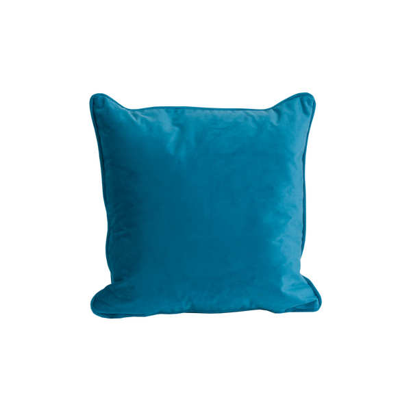 Teal Velvet Cushion 45X45Cm