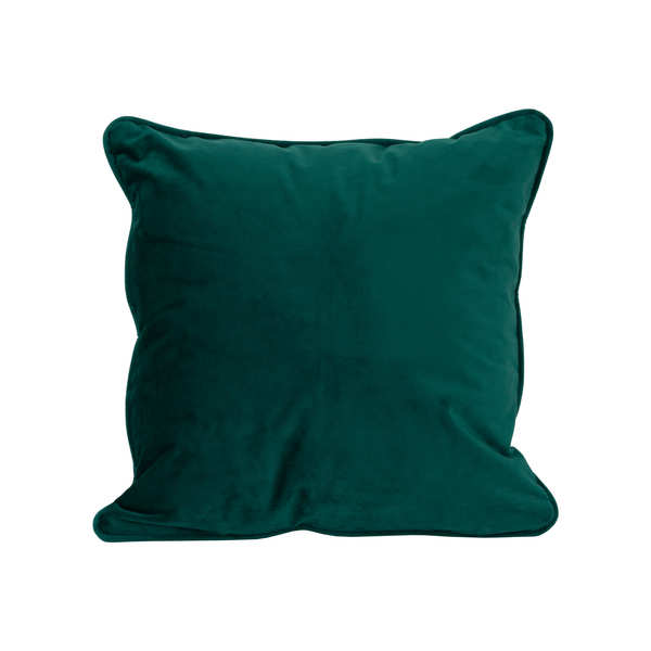 Emerald Green Velvet Cushion 45X45Cm