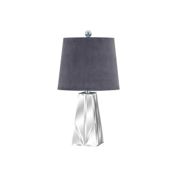 Barnaby Bevelled Mirrored Table Lamp
