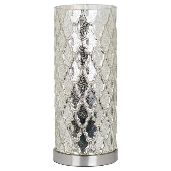 Genevieve Mercury Uplight Table Lamp