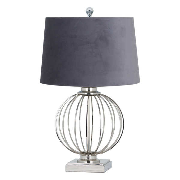 Clementine Chrome Table Lamp