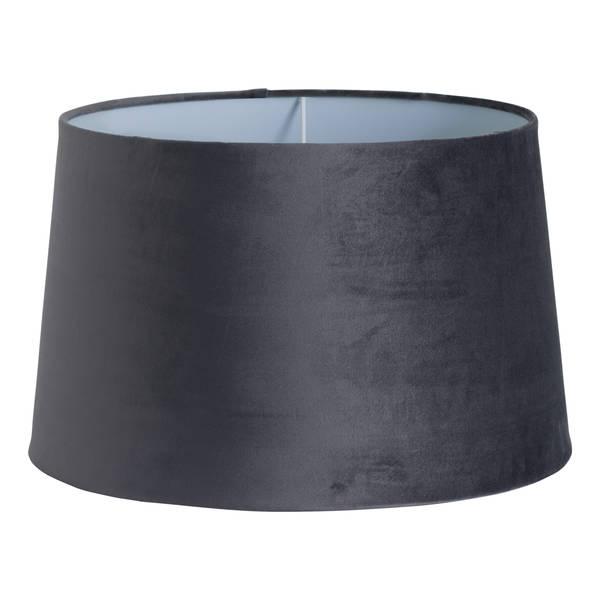 Grey Velvet Lamp Shade