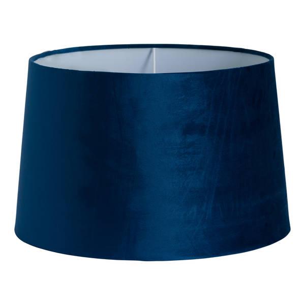 Navy Velvet Lamp Shade