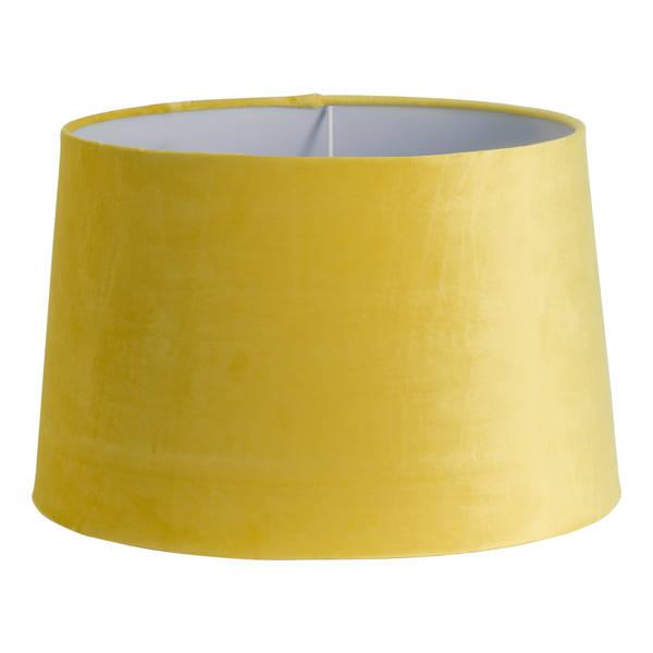 Mustard Velvet Lamp Shade