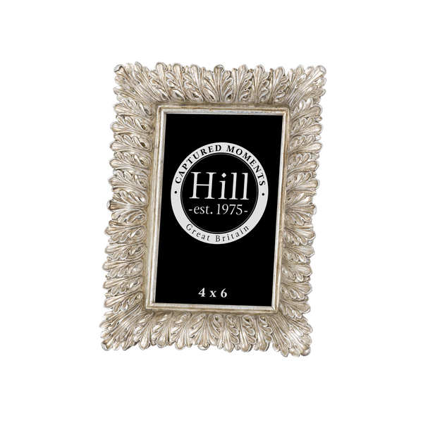 Antiqued Feather Effect Style  Photo Frame 4X6