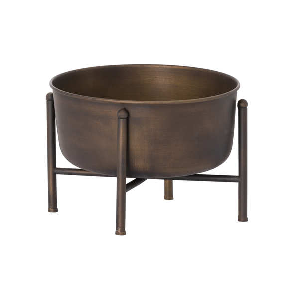Bronze Planter On Frame
