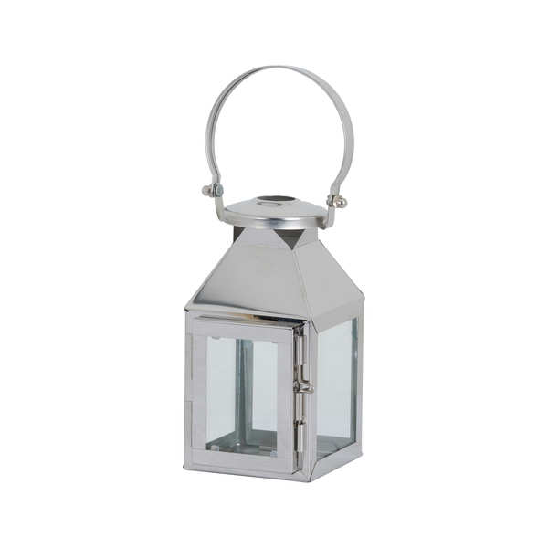 Small Silver Carriage Lantern