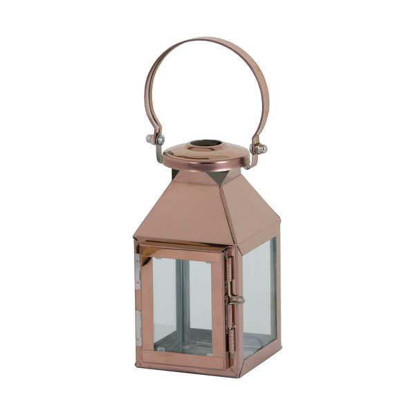 Small Copper Carriage Lantern