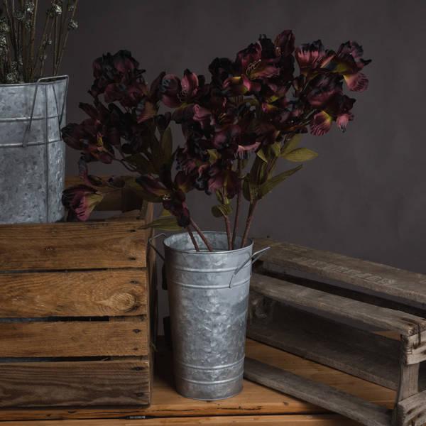 Chocolate Ornamental Lily Spray
