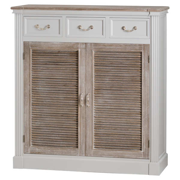 The Liberty Collection Three Drawer Two Door Storage Unit