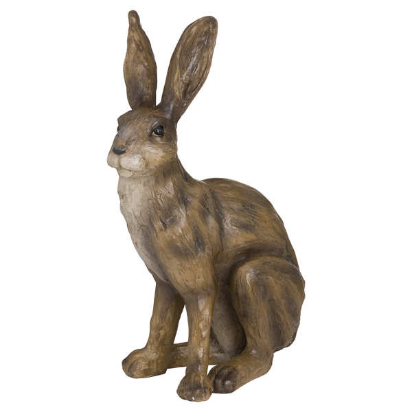 Aged Effect Hare ornament