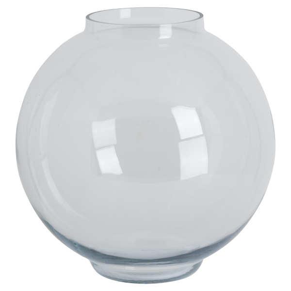 Large Glass Fish Bowl Vase