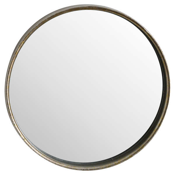 Bronze Narrow Edged Wall Mirror
