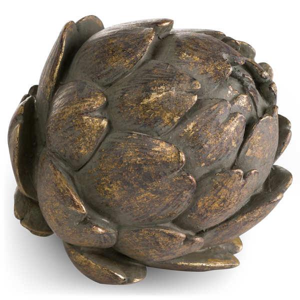 Antique Bronze Large Artichoke