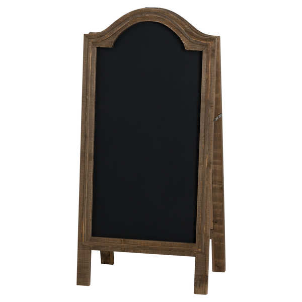 Rustic Wooden A Chalk Board