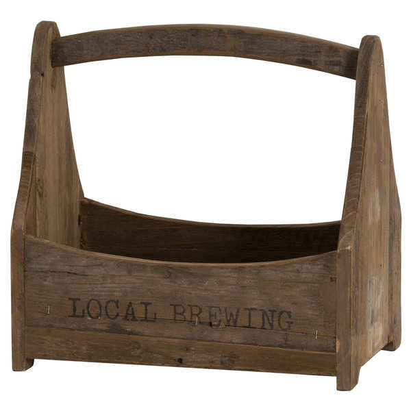 Local Brewing Bottle Crate