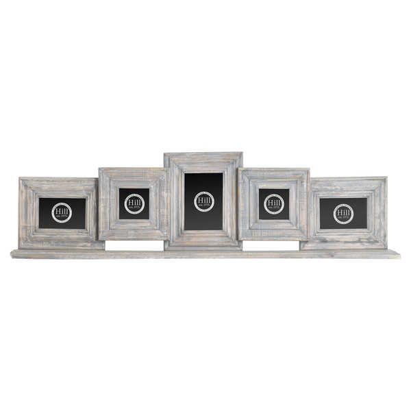 Grey Distressed Mantel Multi Frame