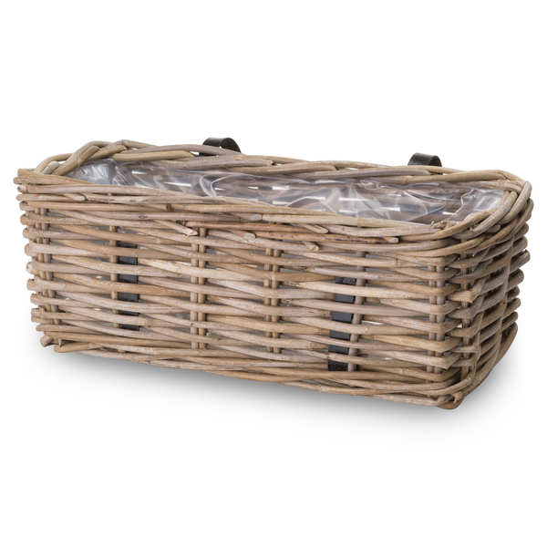 The Bali Collection Full Rattan Large Wall Planter