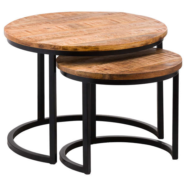 Set Of Two Industrial Tables