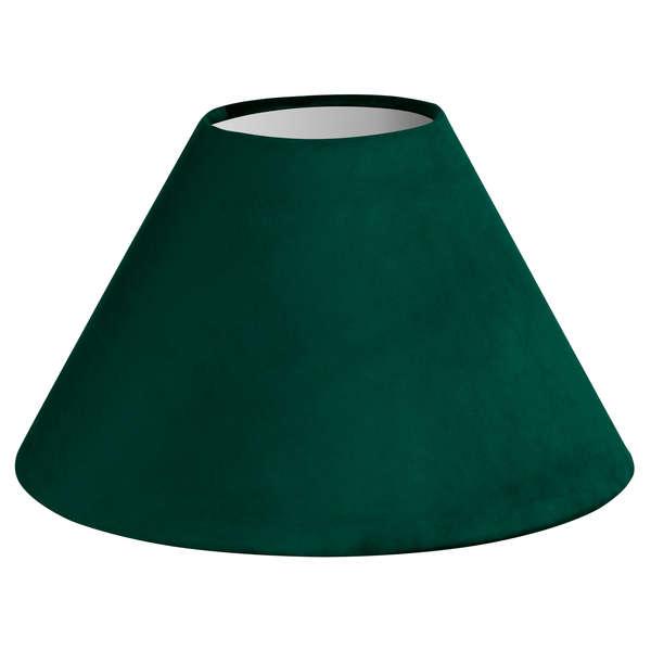 Large Emerald Green Velvet Lampshade