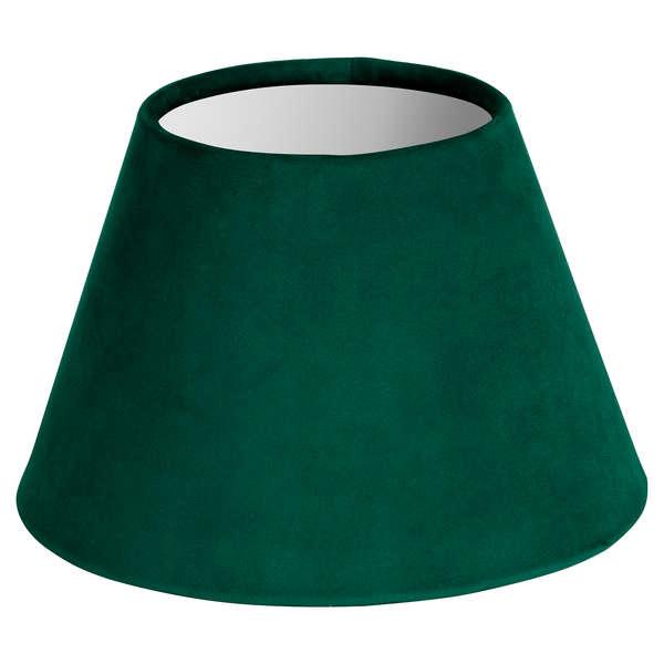 Small Emerald Green Velvet Lampshade