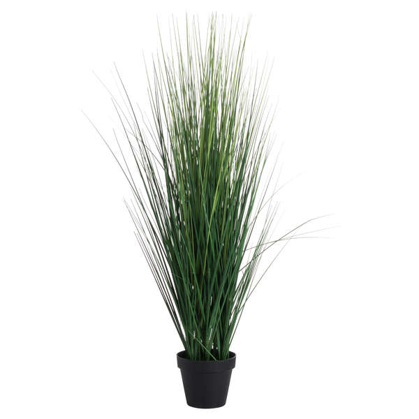 Potted Tall Grass Bush - Small
