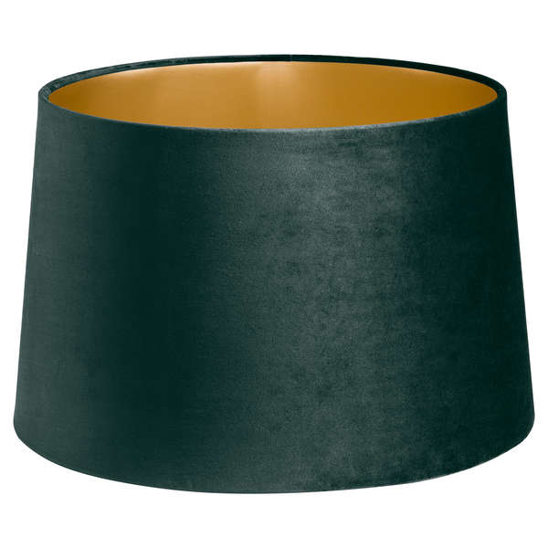 Emerald Green Velvet Lamp And Ceiling Shade