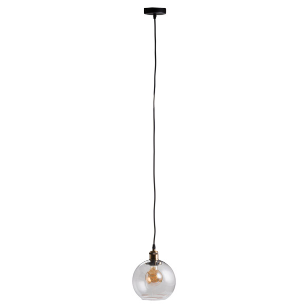 Glass Globe Pendant Light