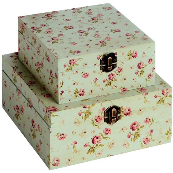 Kidson Style Trinket Boxes