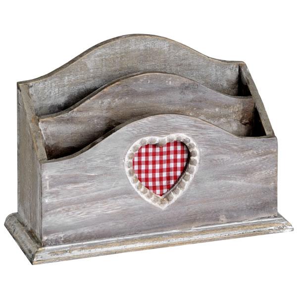 Heart Letter Rack