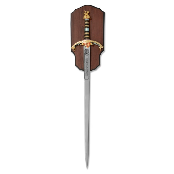 Richard the Lion Heart Sword On Plaque