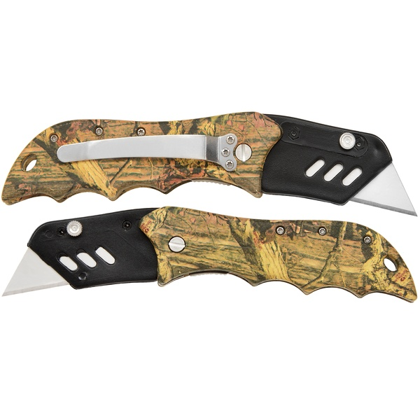 Real Tree Camo Stanley Blade Pocket Knife