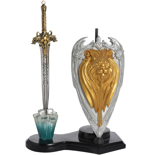 Dragon Shield And Lion Sword Letter Opener
