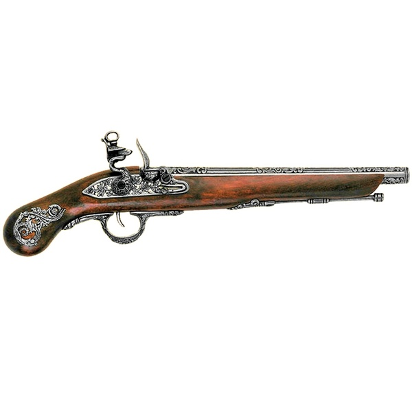 Flintlock Pistol, Italy 18Th. C.
