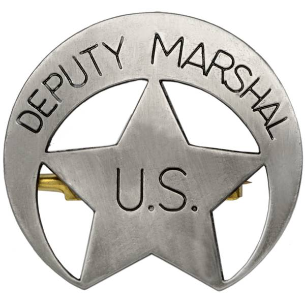 US Deputy Marshall Badge