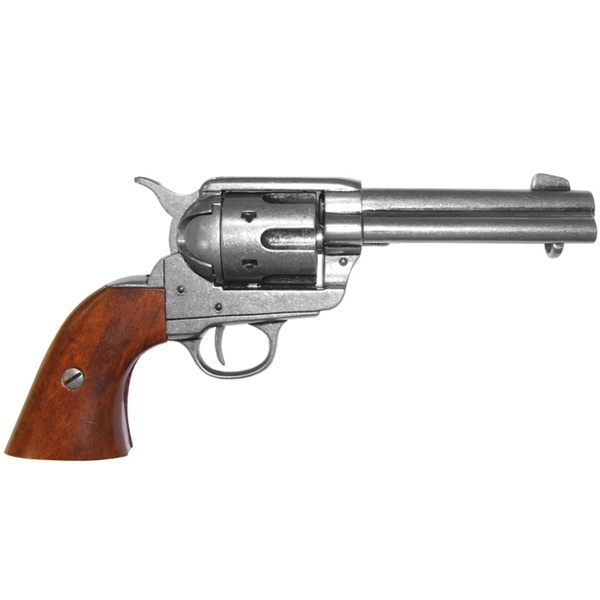 "Cal.45 Peacemaker 4.75 ""Revolver, designed by S. Colt, USA"