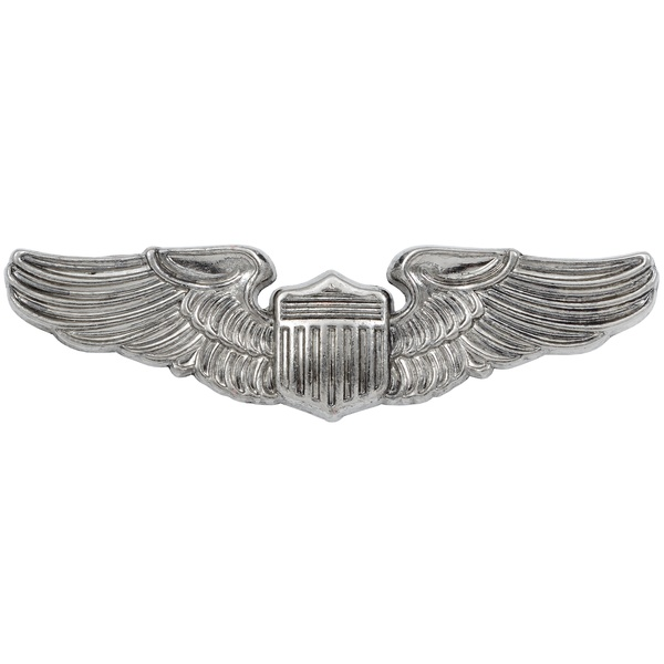 World War 2 Pilot Wings air force badge USA 1941