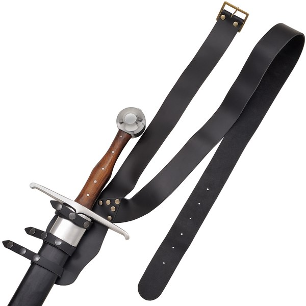 Leather Sword Belt ***
