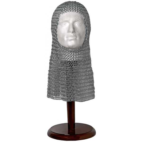 Chain Mail Head Piece (Coif)