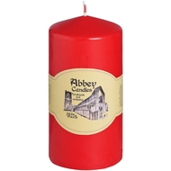 3  X  6  Red  Church  Candle